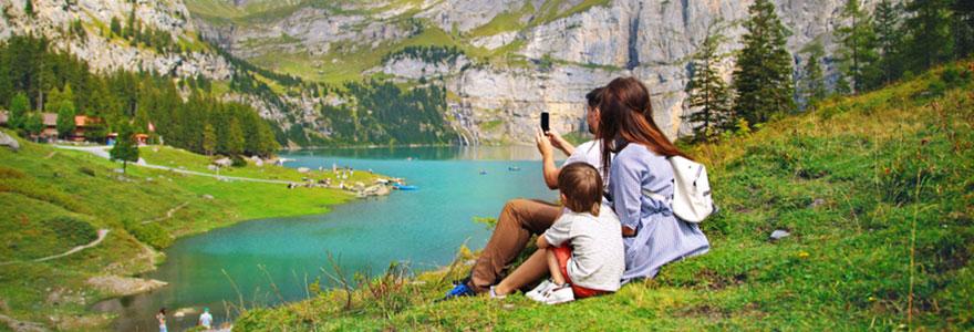 Vacances tranquilles à la campagne